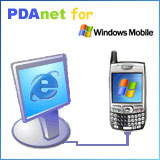 PDAnet for Windows Mobile